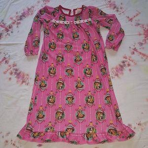 Girls Nickelodeon Dora nightgown sz 6